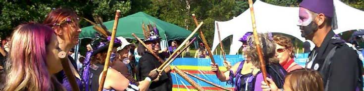 Picture at Pagan Pride, Nottingham on 3rd August 2014.